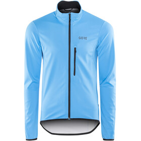 GORE WEAR C3 Windstopper Element Jacket Men dynamic cyan